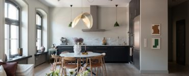The Dream Home Design - Open Kitchen And Living Room