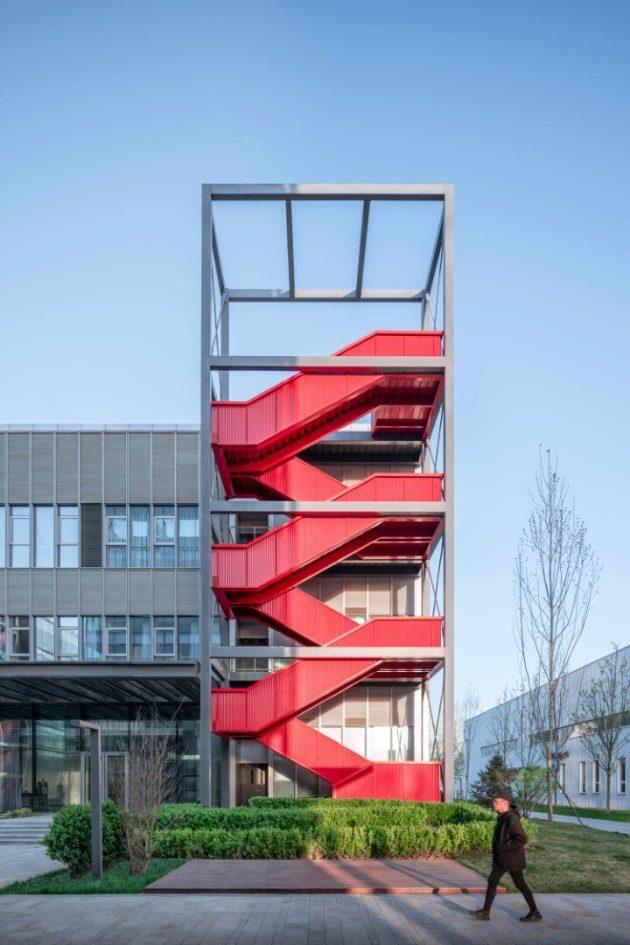 WELL Living Lab par Superpose Architecture à Pékin, Chine
