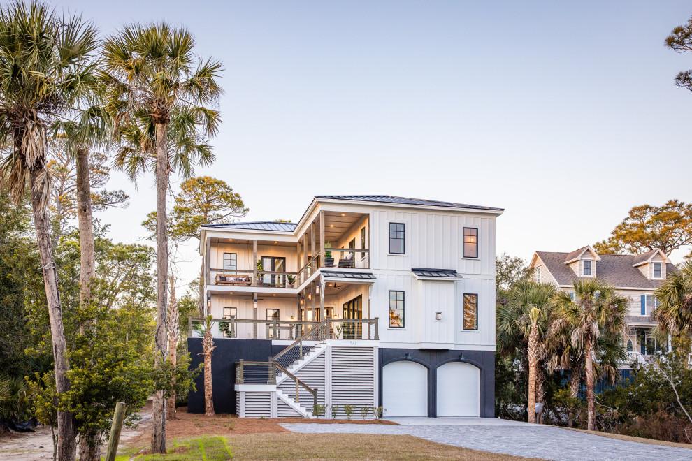 20 incroyables conceptions extérieures de maisons côtières qui vous couperont le souffle