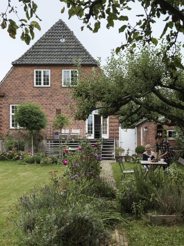 Jetez un œil à la villa danoise vieille de 85 ans qui a été rénovée