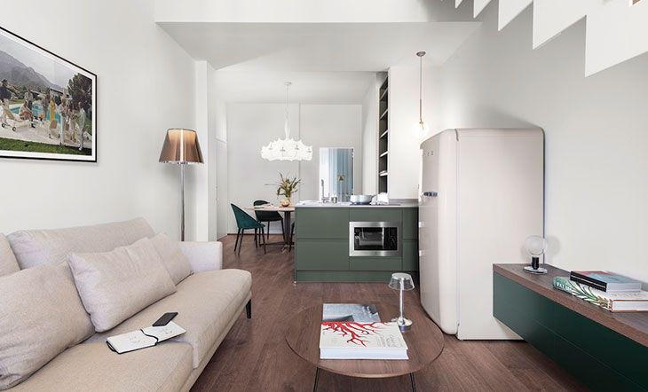 Elegant, Contemporary Style In An Apartment In Florence