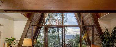 mid-century-modern-a-frame-living-room
