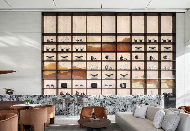 Starry Metropolis Interior Design par Mind Design à Lanzhou, Chine