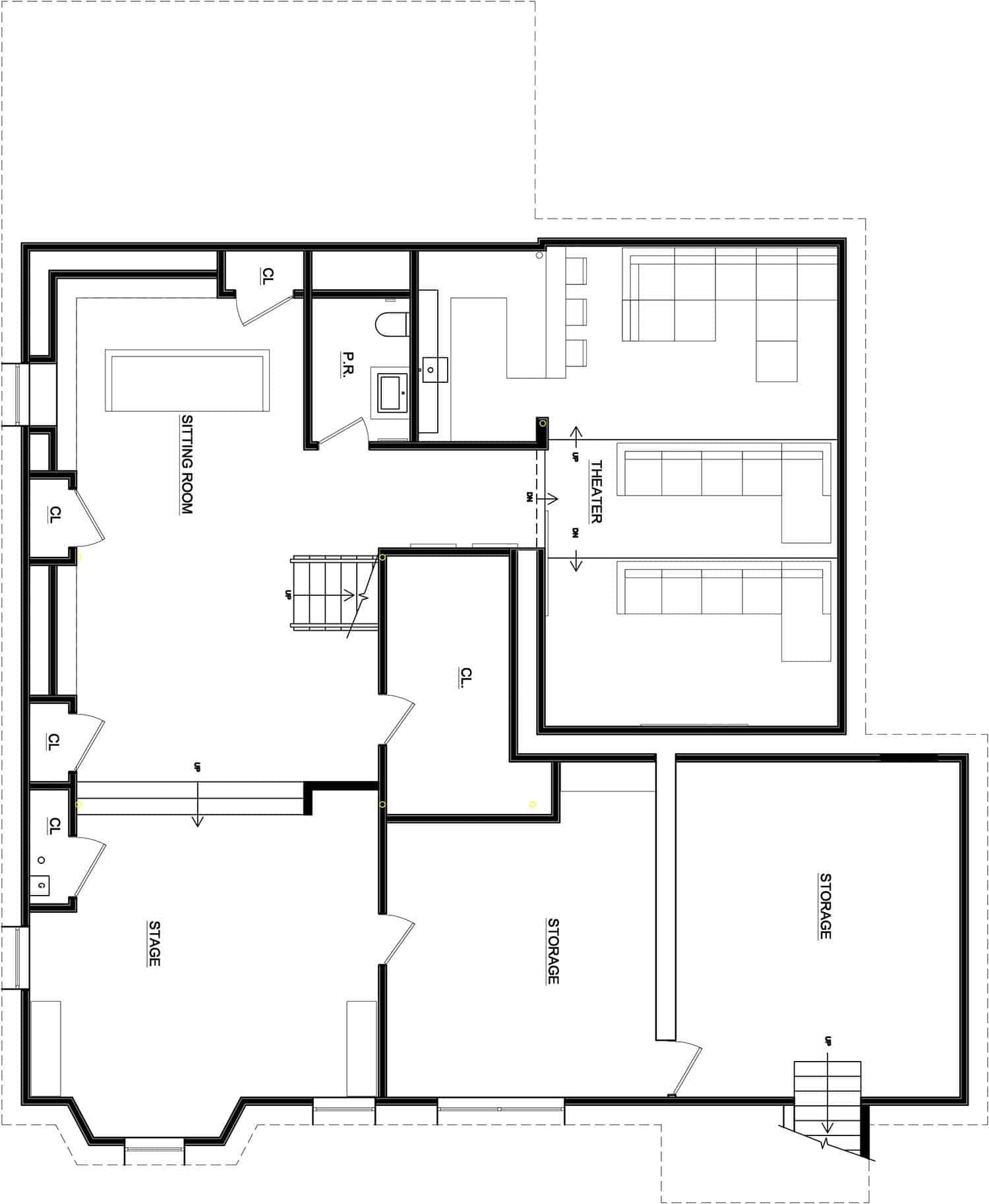 plan-d-étage-maison-durable-contemporaine