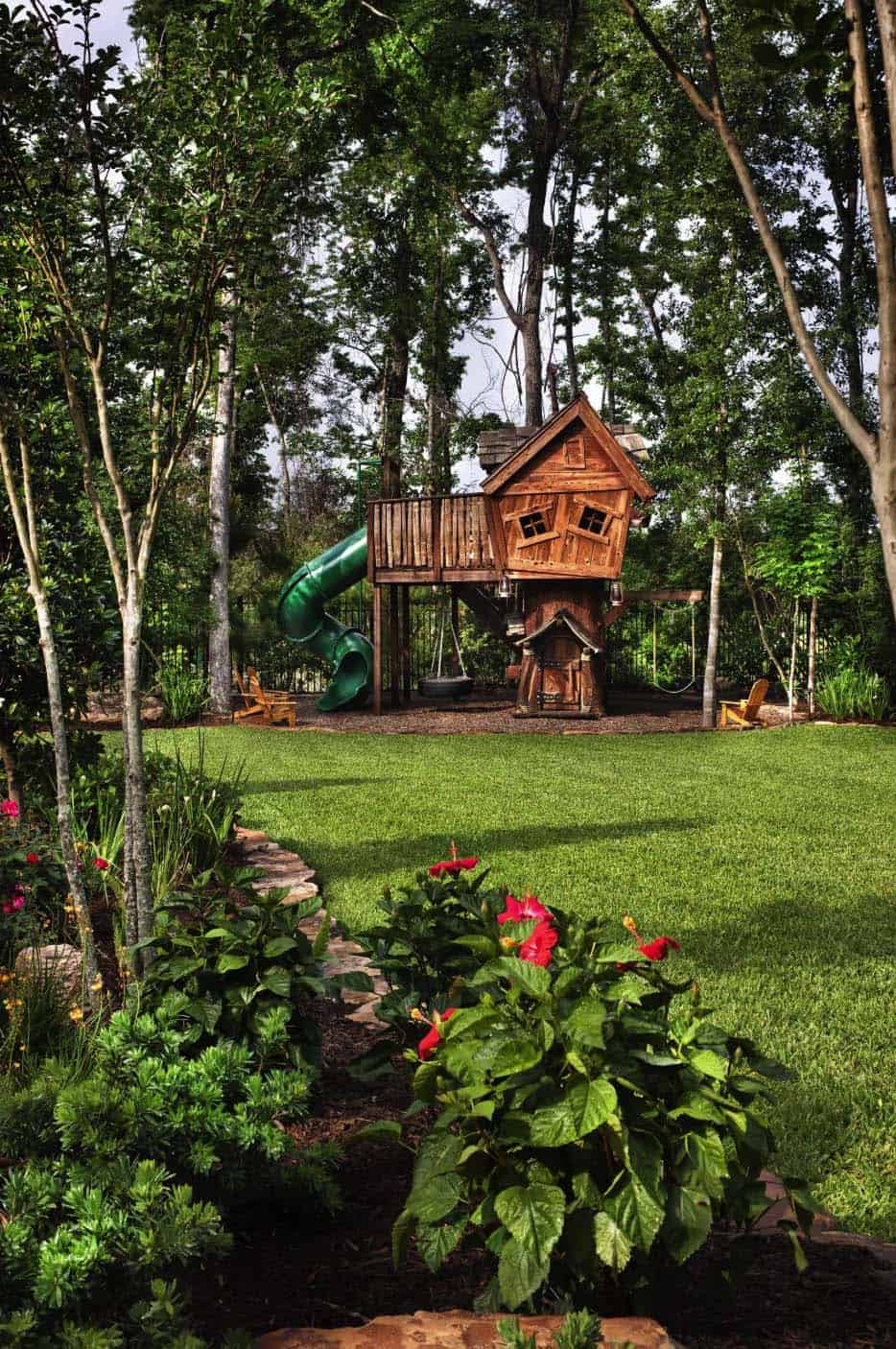 manoir-anglais-paysage-traditionnel-kids-playhouse
