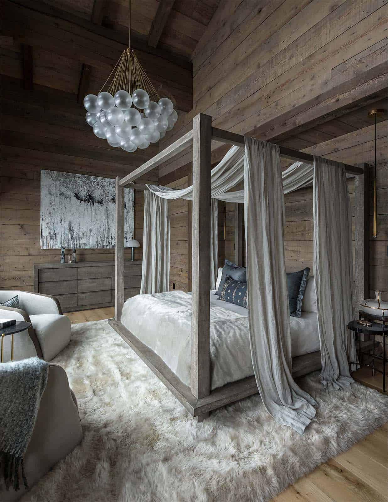 chambre-principale-chalet-alpin