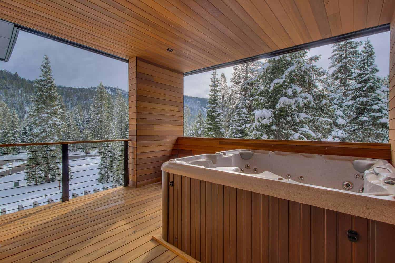 bain à remous moderne