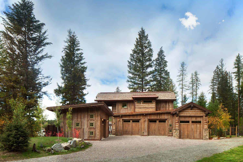 rustique-lac-maison-exterieur-garage