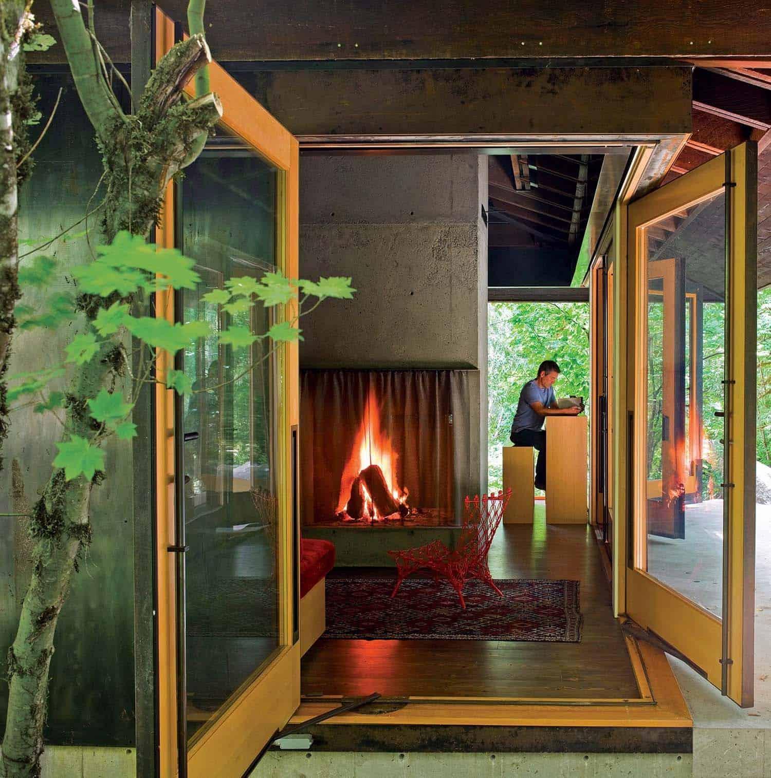 entrée-cabine-moderne-compacte