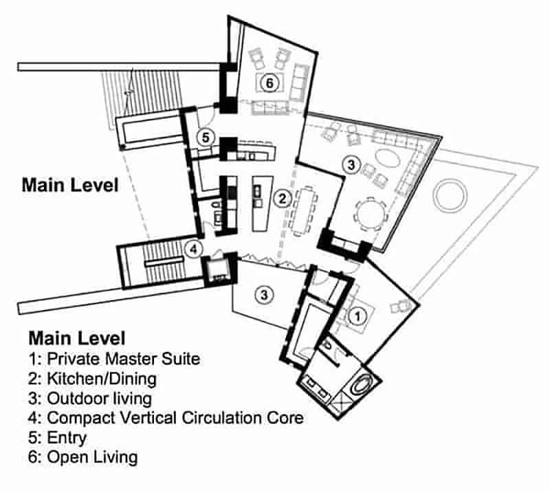 plan-d-étage-maison-montagne-contemporaine