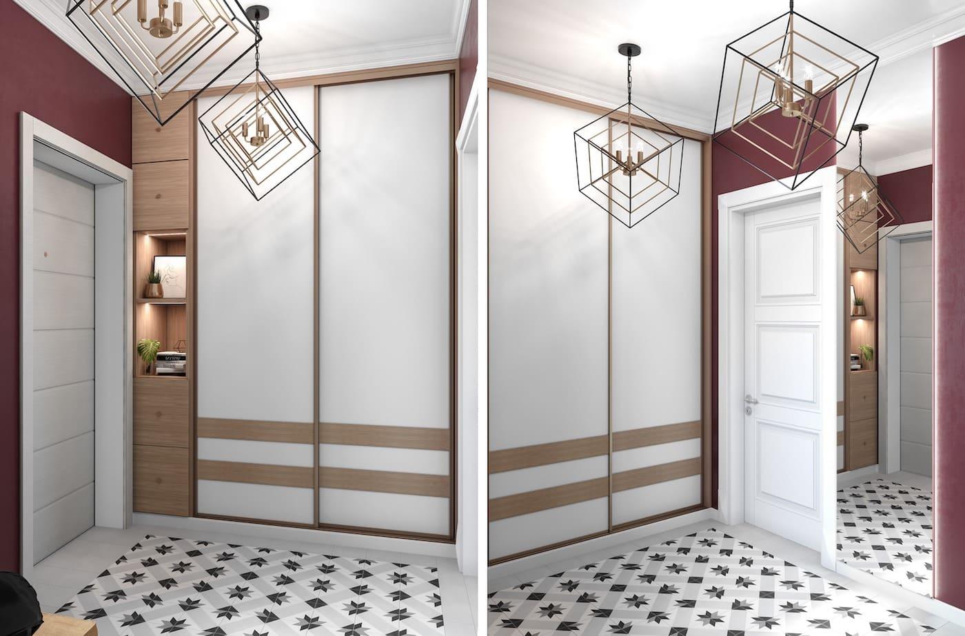 design d'intérieur couloir photo 2