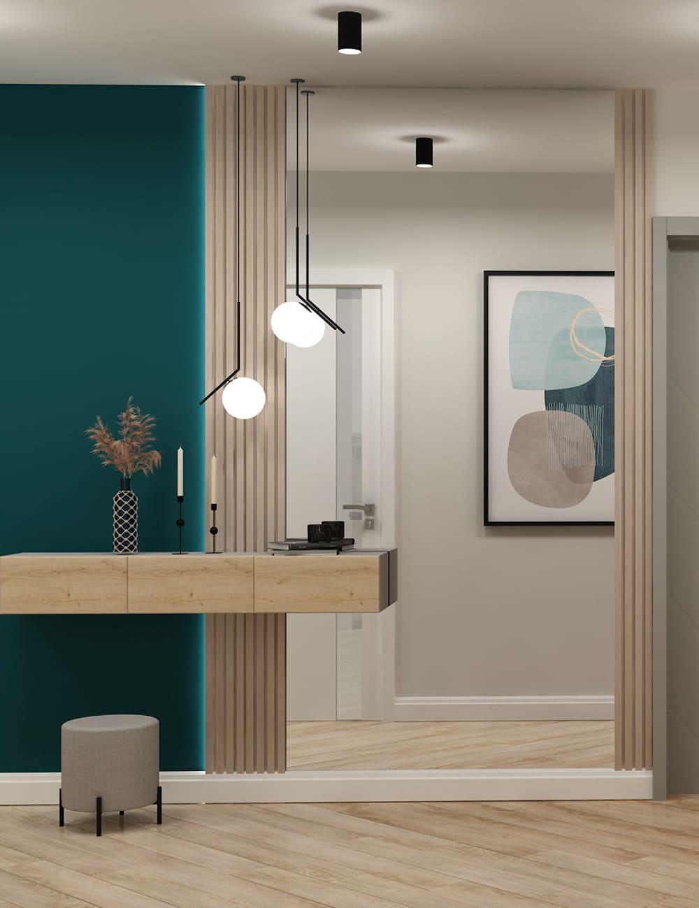 photo de couloir de design d'intérieur 68