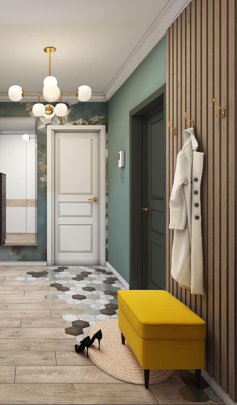 photo de couloir de design d'intérieur 13