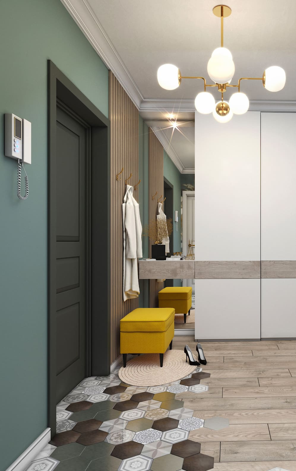 design d'intérieur couloir photo 12