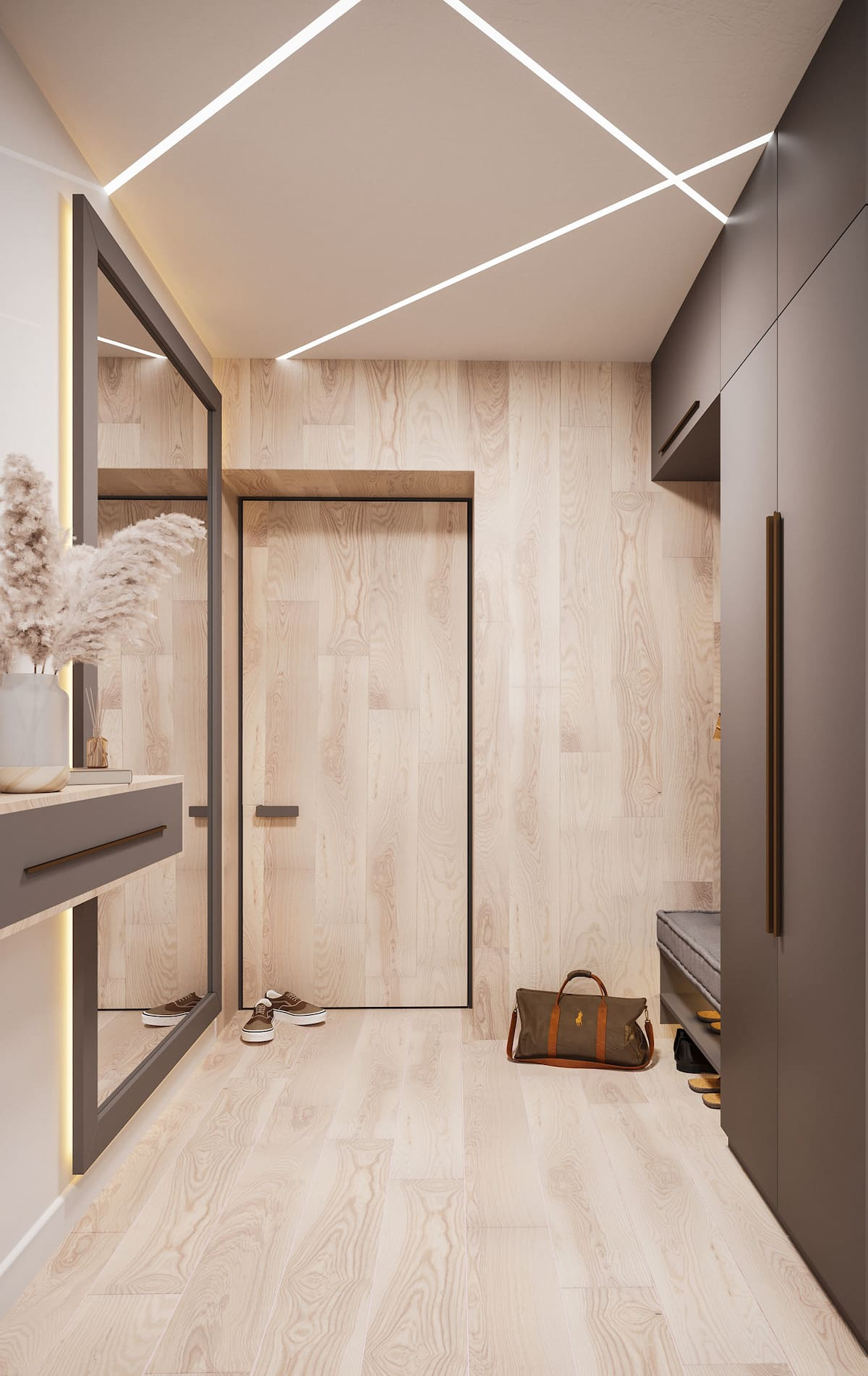 photo de couloir de design d'intérieur 16