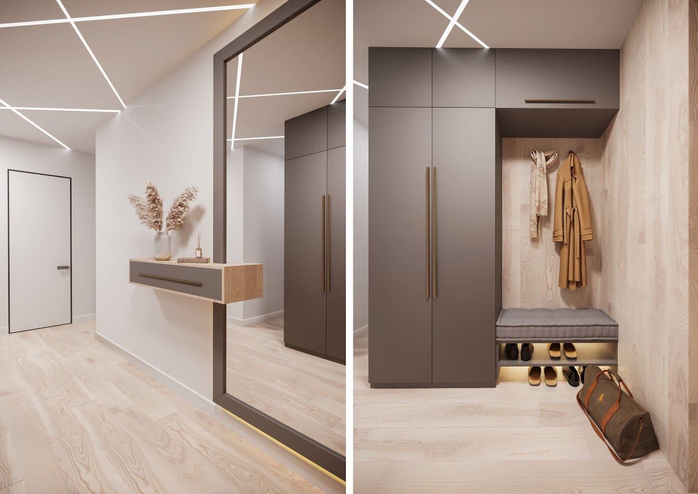 design d'intérieur couloir photo 17