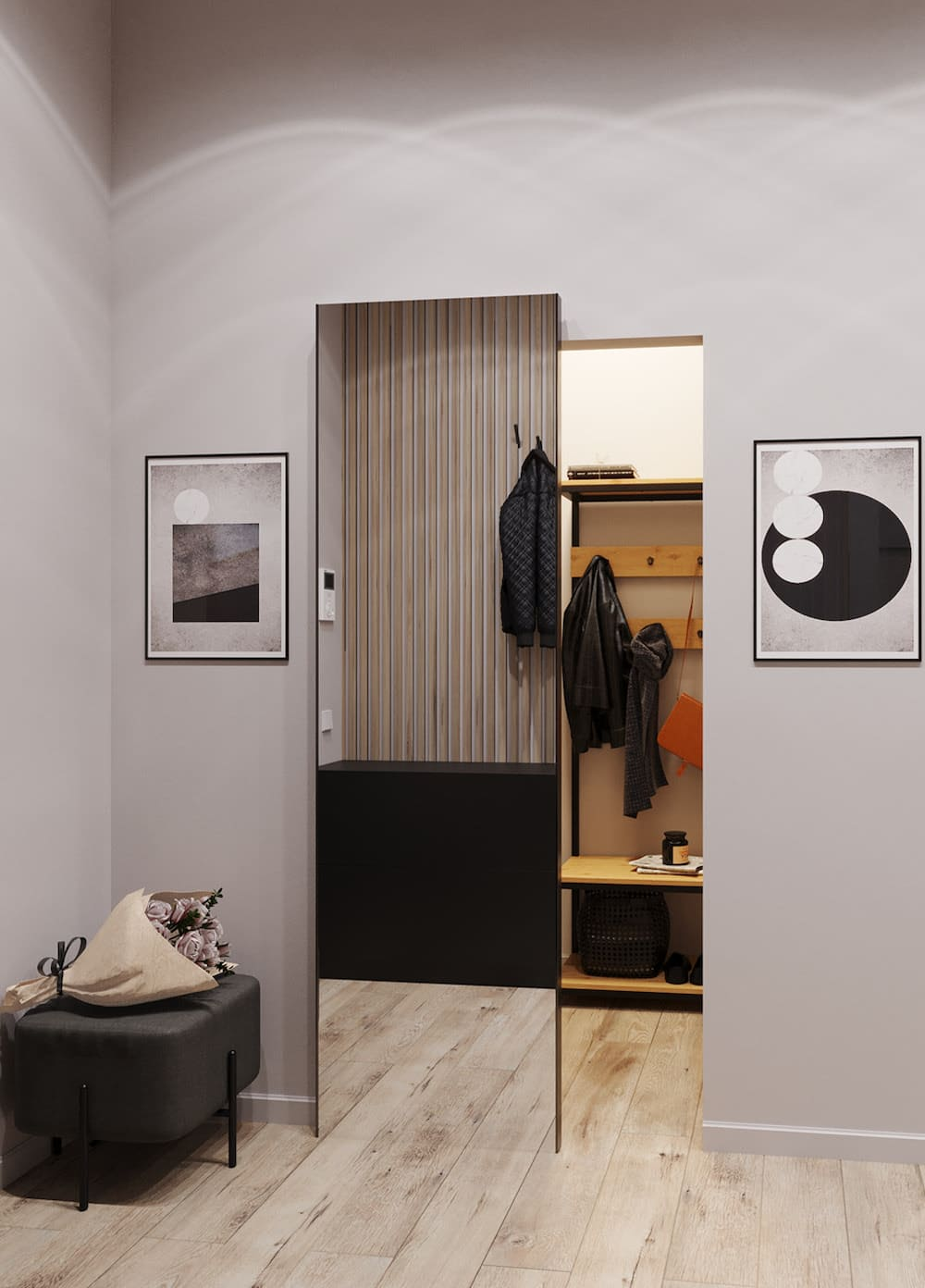 photo de couloir de design d'intérieur 25
