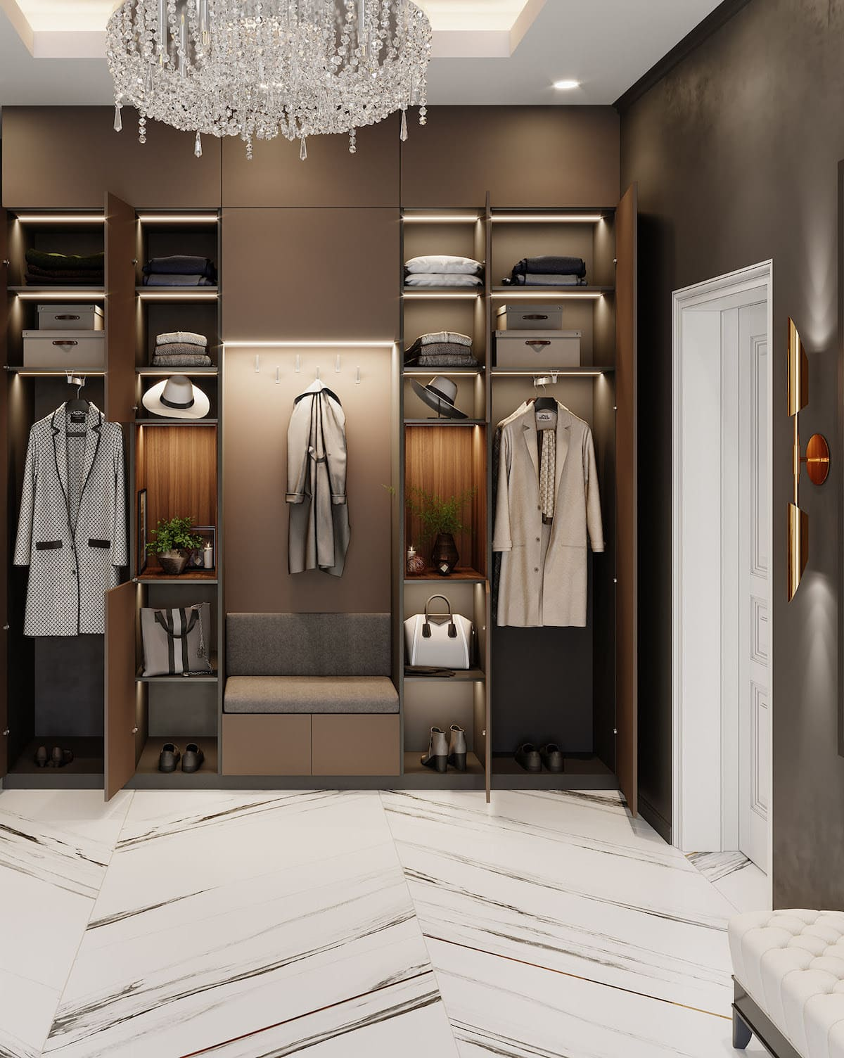 design d'intérieur couloir photo 74