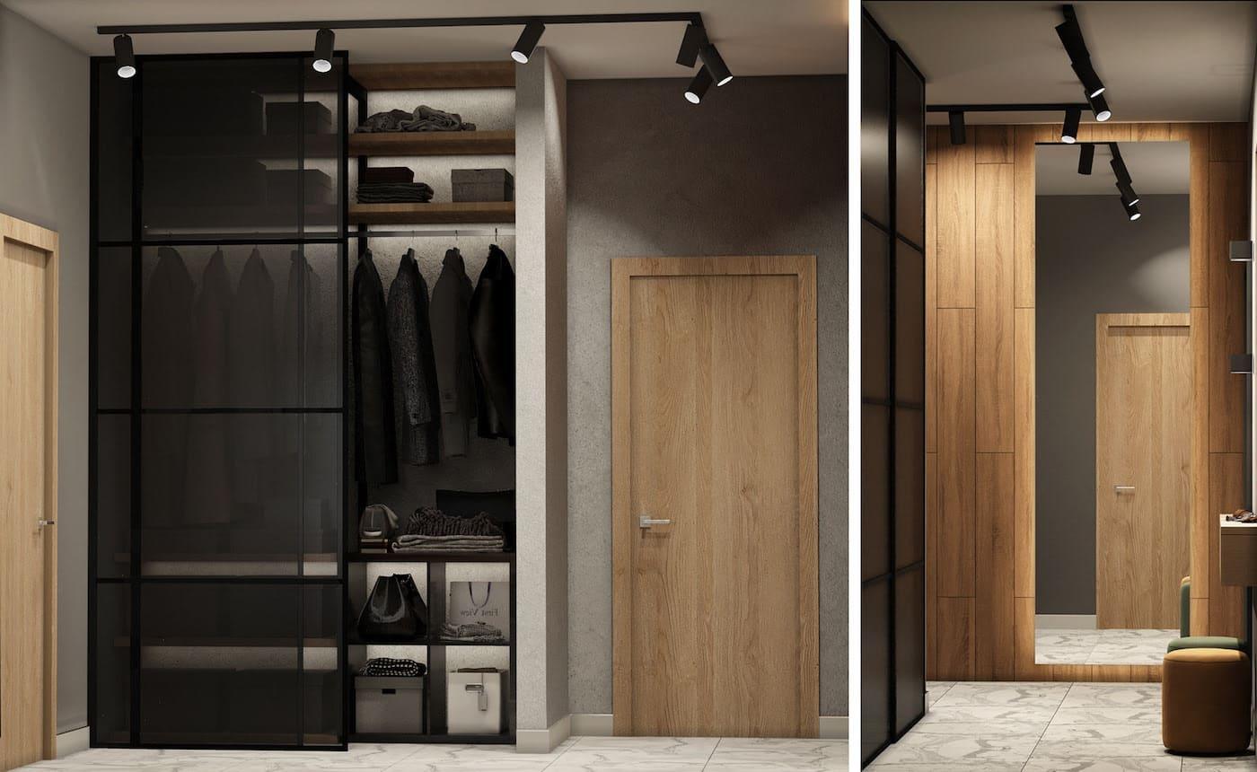 photo de couloir de design d'intérieur 76