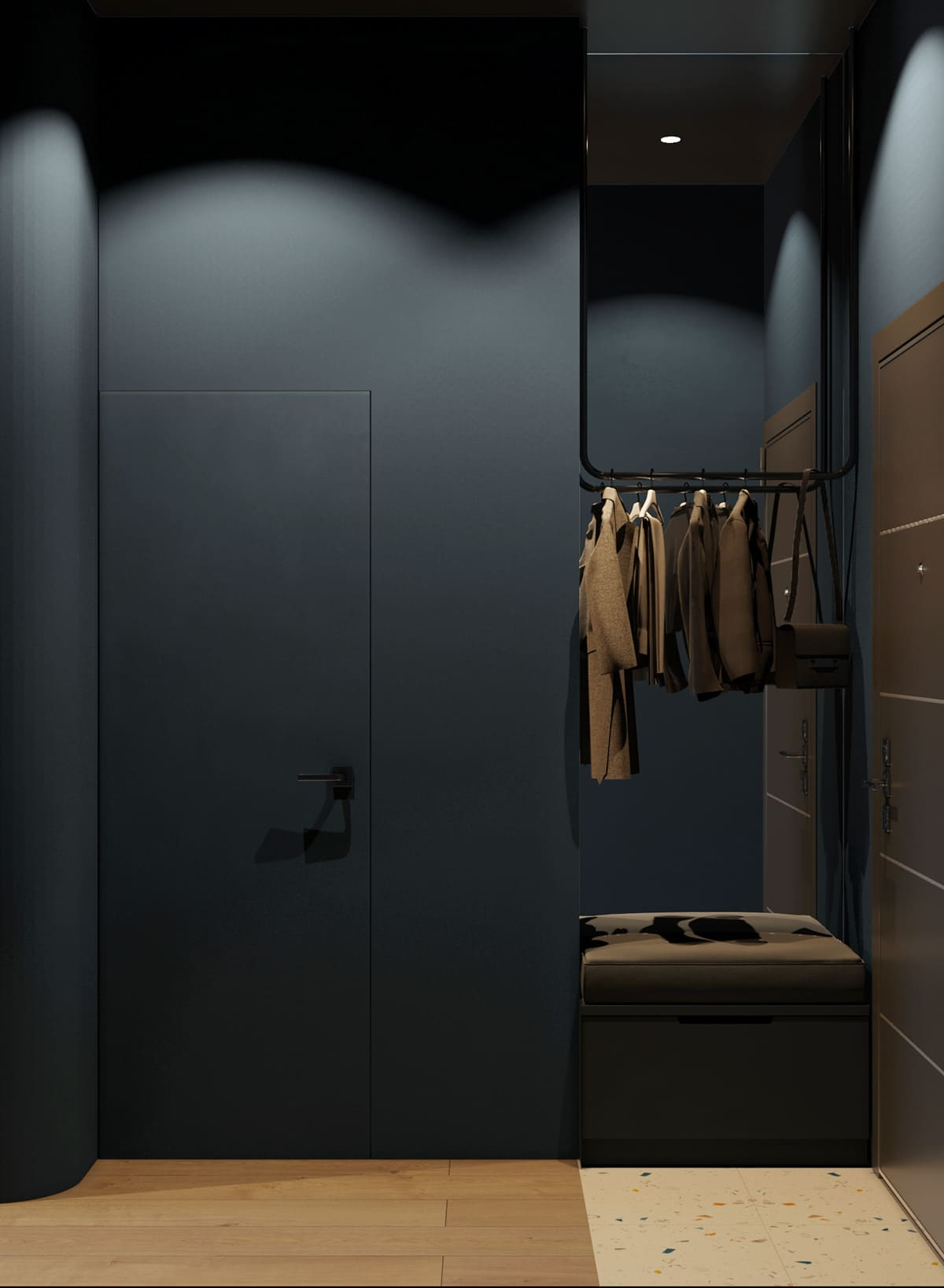 design d'intérieur couloir photo 77