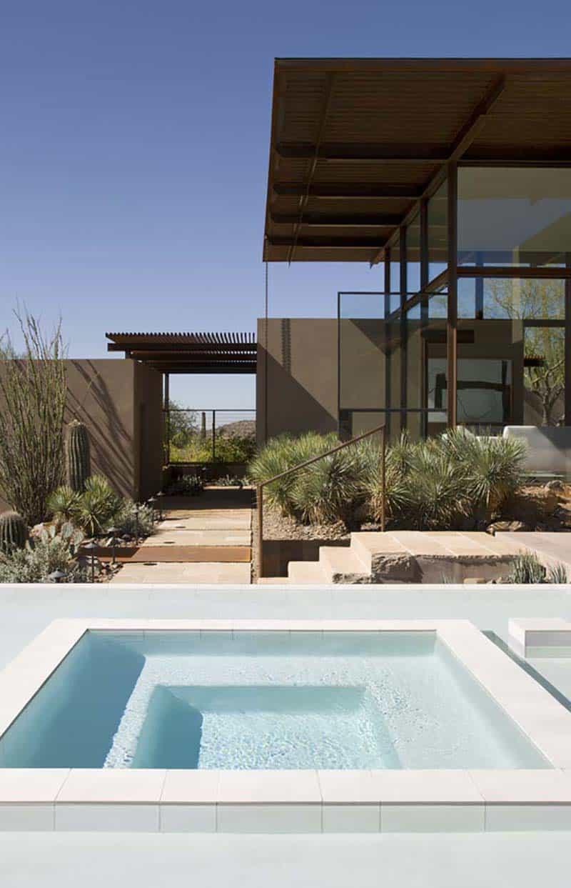 résidence-contemporaine-piscine
