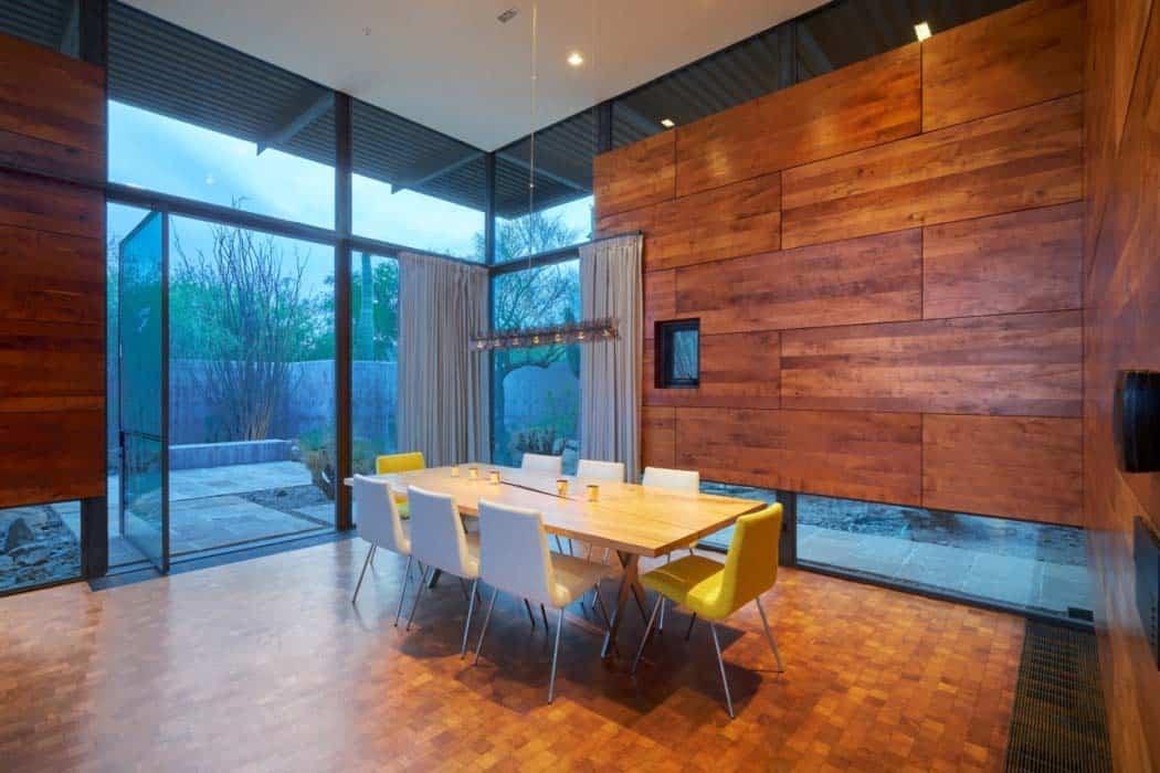 résidence-salle-à-manger-contemporaine