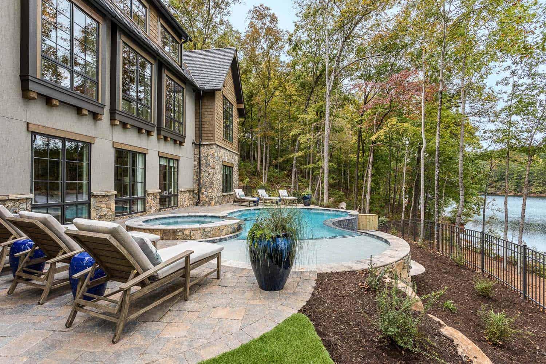 maison-modèle-contemporaine-piscine