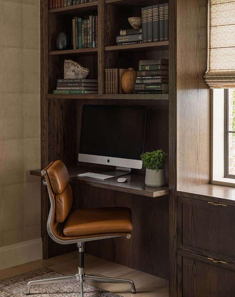 bureau-a-maison-moderne-tudor