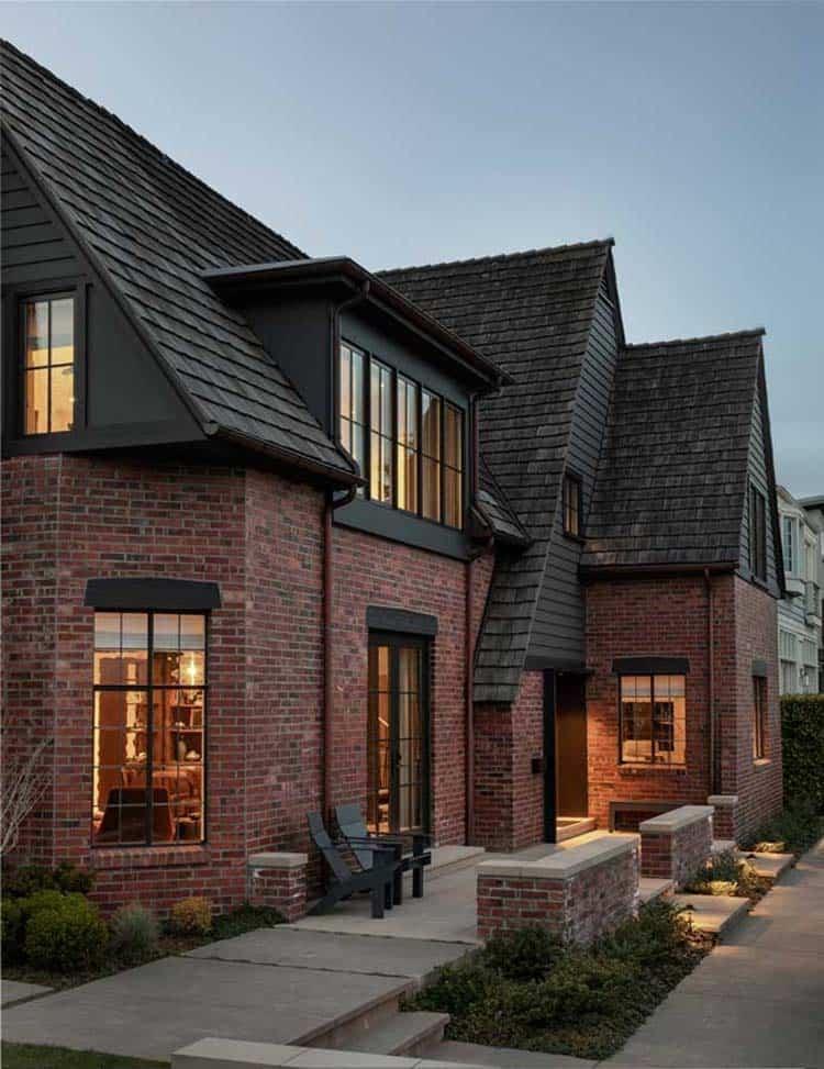 extérieur-maison-moderne-tudor