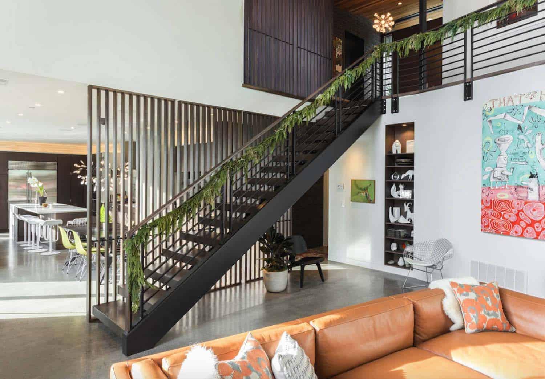 maison-mi-siècle-escalier