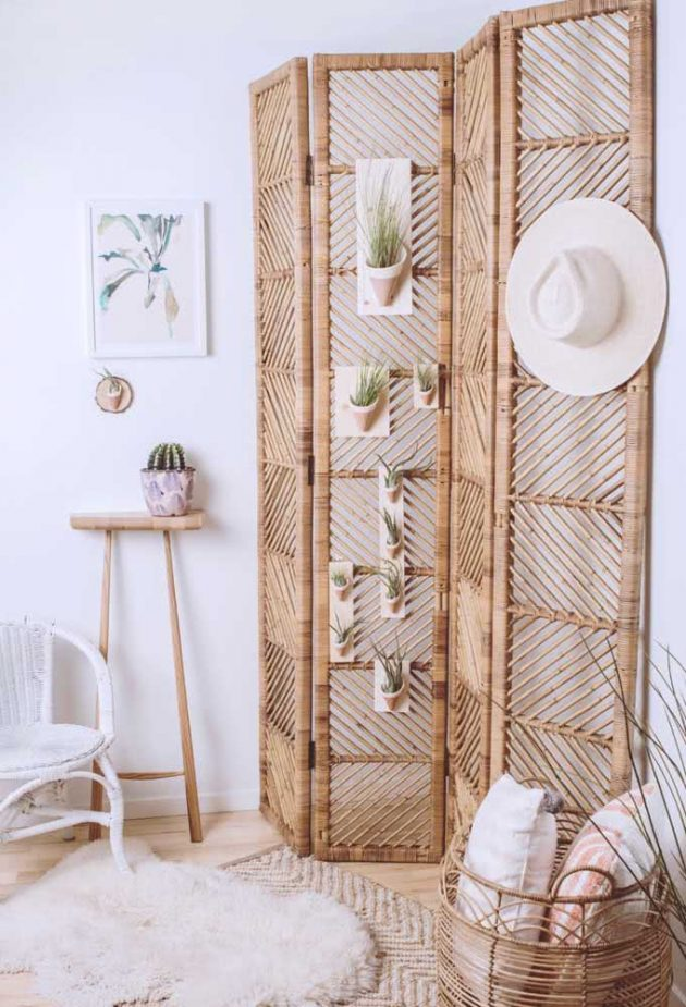 Conseils et idées pour décorer le paravent en bois de vos rêves
