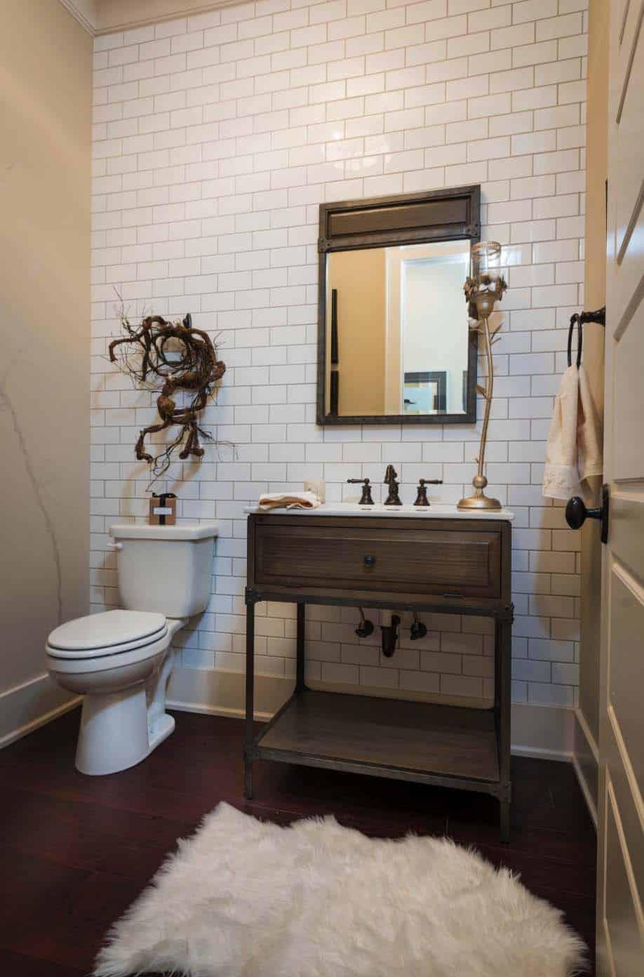 salle d'eau traditionnelle