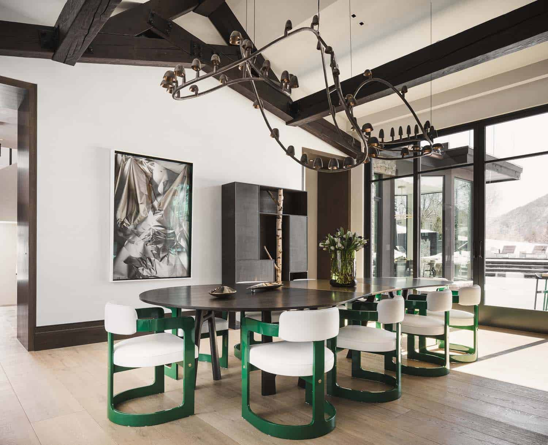 salle-à-manger-maison-moderne-montagne