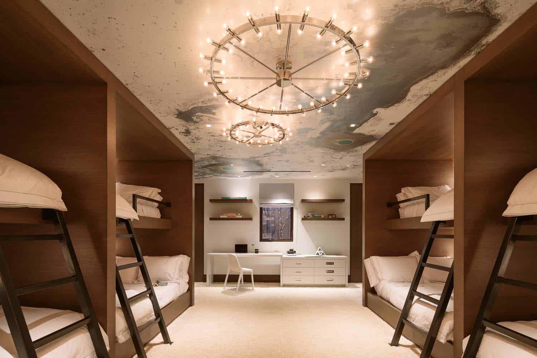chambre-superposée-maison-montagne-moderne
