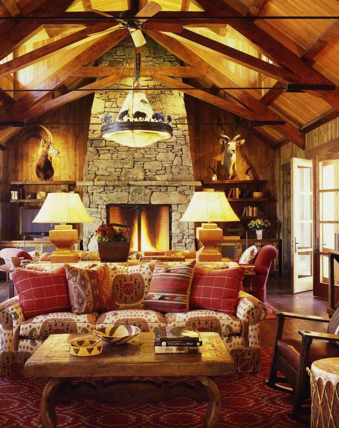 ranch-familial-salon-rustique