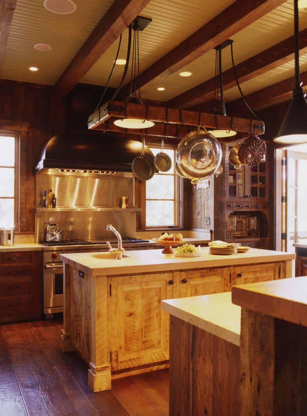 famille-ranch-rustique-cuisine