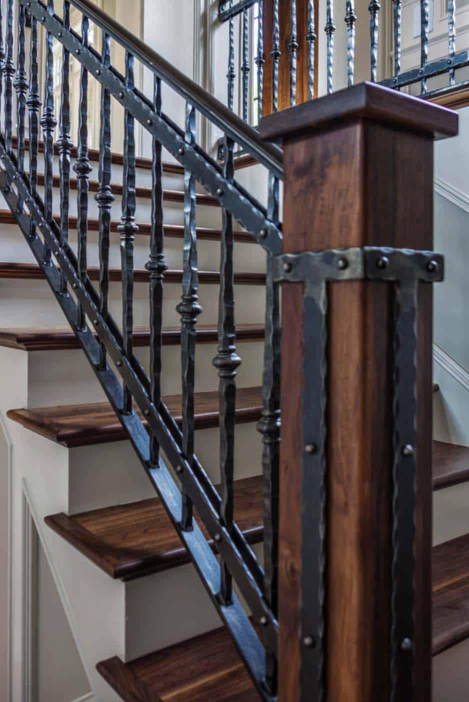 détail-escalier-de-style-traditionnel