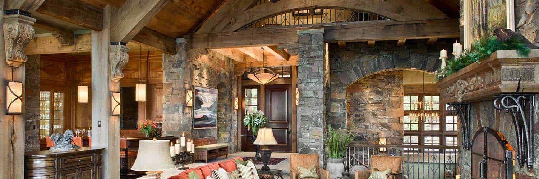 rustic-mountain-home-living-room