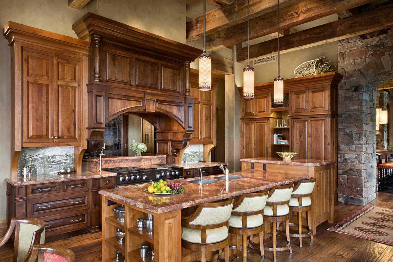 residence-rustique-cuisine