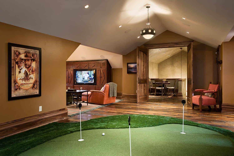 residence-rustique-interieur-putting-vert