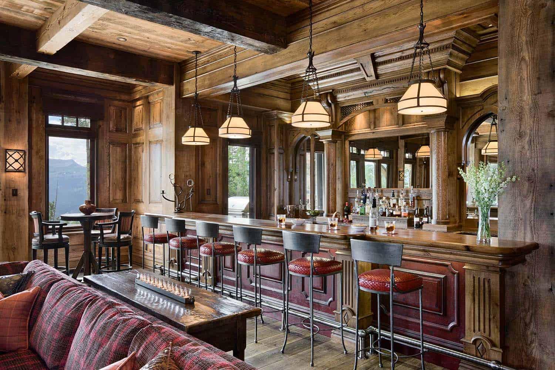résidence-rustique-maison-bar