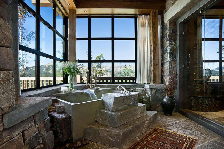 résidence-rustique-salle-de-bain