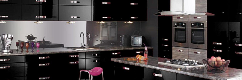 Cuisine noire des idees de design audacieuses