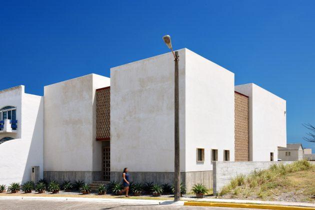 Iguana House par OBRA BLANCA à Alvarado, Mexique
