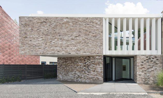 Maison K par GRAUX & BAEYENS Architecten à Buggenhout, Belgique