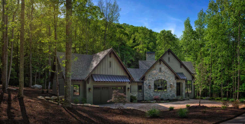 transition-montagne-maison-moderne-extérieur