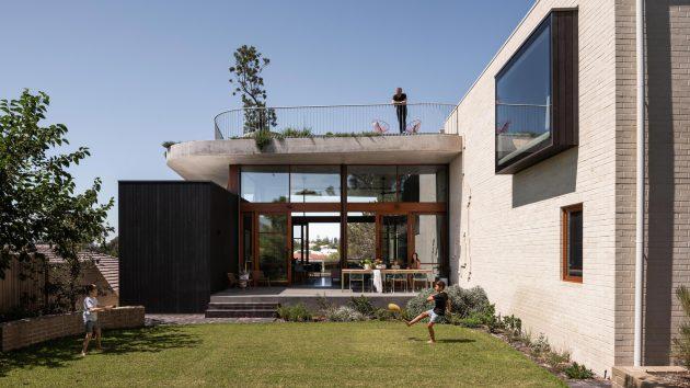 Résidence Klopper par Klopper & Davis Architects à Perth, Australie