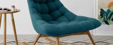Si vous voulez avoir un intérieur charmant, alors possédez la chaise berçante