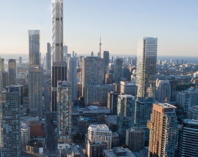 The One par Mizrahi Developments à Toronto, Canada