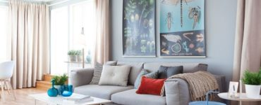 Un décor d'intérieur scandinave bleu-gris qui vous étonnera tout simplement